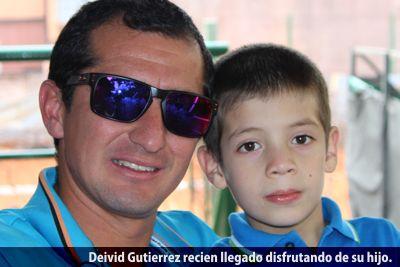 Deivid Gutierrez e hijo