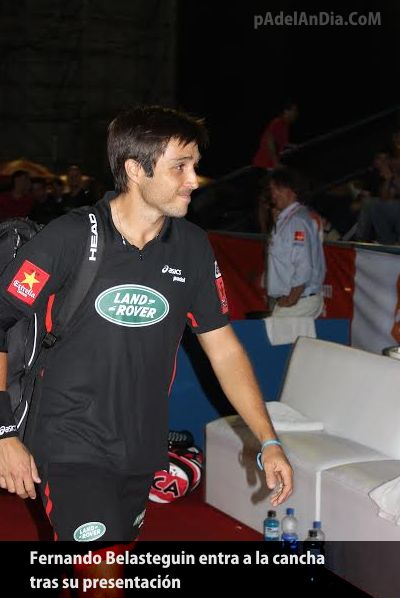 Fernando Belasteguin en el Open Buenos Aires WPT