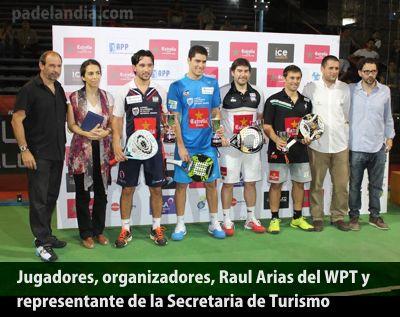 Jugadores y organizadores del WPT Open Buenos AIres - tecnópolis