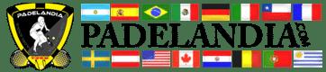 Paletas de padel - Padelandia logo