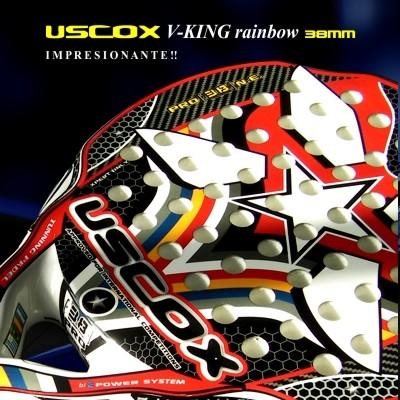 Paleta de paddle Uscox V-king Rainbow