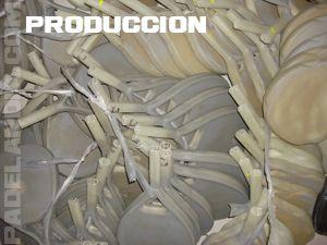 Produccion palas crudas